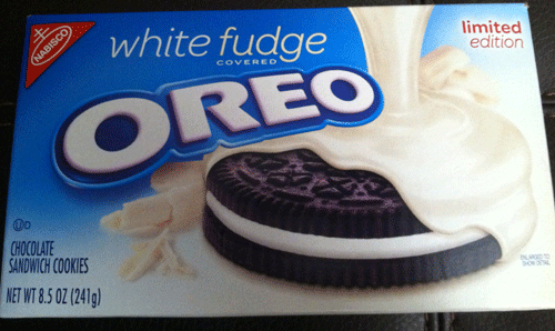 Limited Edition White Fudge Covered Oreos & Awkward Mondays: Going ...