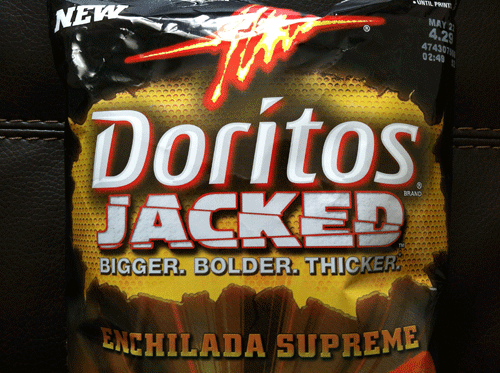 new doritos jacked enchilada supreme things change at a drop of a
