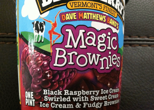 ben and jerry brownie