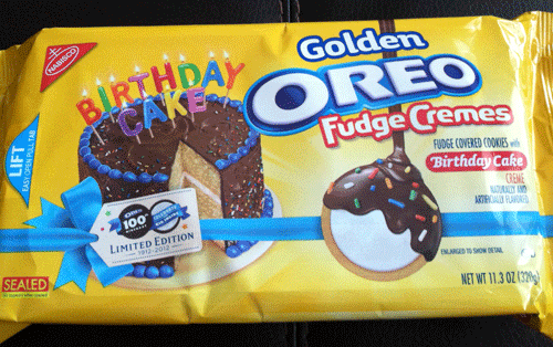 Birthday Cake Golden Oreos Review