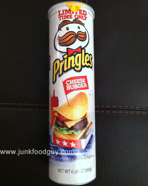 Review limited edition cheeseburger pringles do your for Where can i get fish and chips near me
