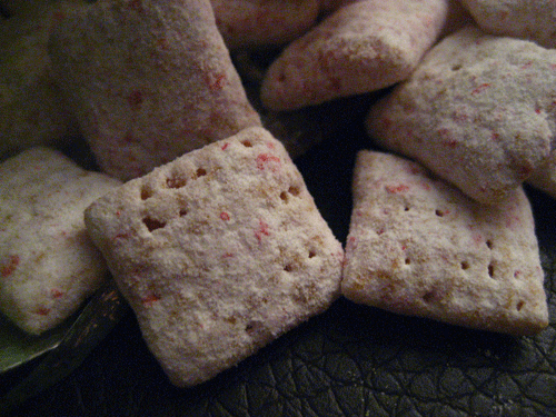 Limited Edition Muddy Buddies Peppermint Bark Chex Mix