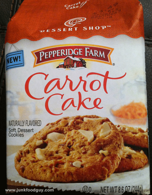 New Pepperidge Farm Dessert Shop Carrot Cake Cookies