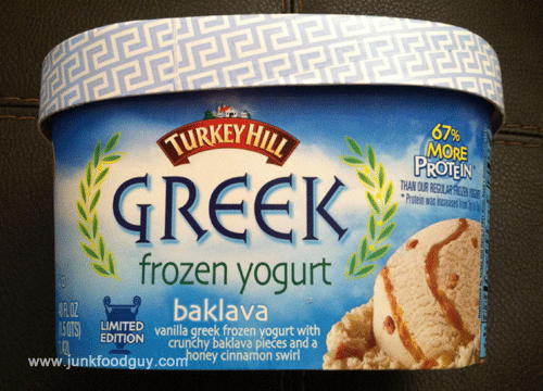 Limited Edition Turkey Hill Baklava Greek Frozen Yogurt