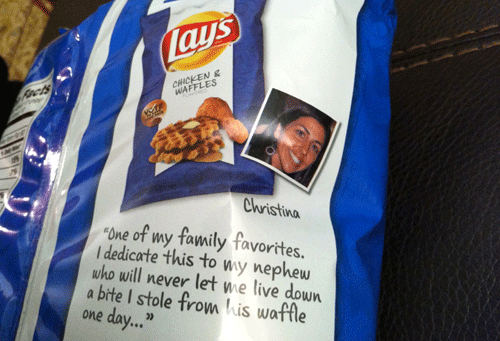 Lay's Chicken & Waffles Potato Chips