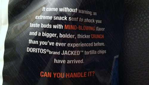 Doritos JACKED Ranch Dipped Hot Wings Chips