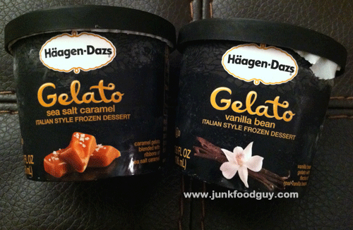 Review x2 new h agen dazs sea salt caramel gelato for Gelati haagen dazs
