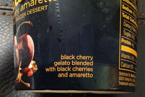 New Häagen-Dazs Black Cherry Amaretto Gelato