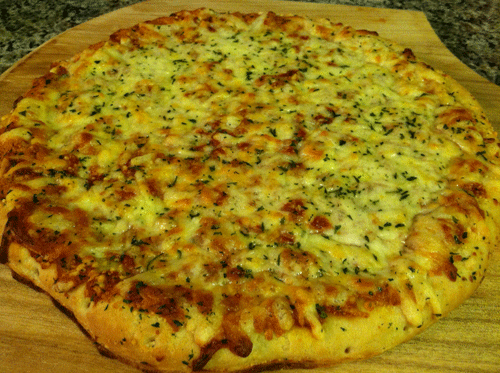New DiGiorno's Pizzeria! Quattro Formaggi/Four Cheese Pizza