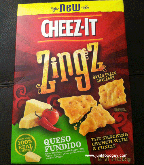 New Cheez-It Queso Fundido Zingz