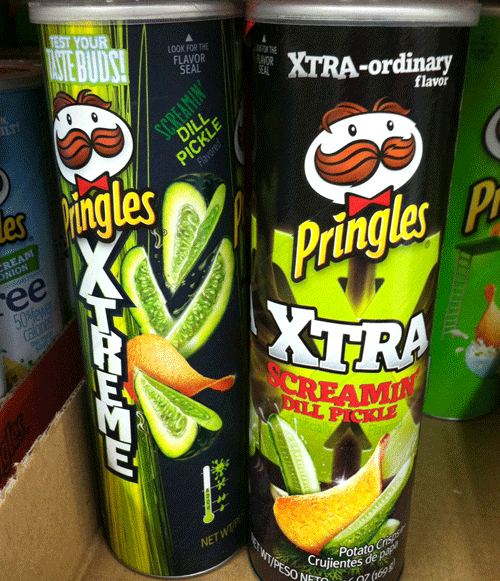Limited Time Only Buffalo Ranch Pringles