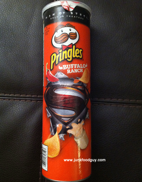 Limited Time Only Buffalo Ranch Pringles: The Money Shot