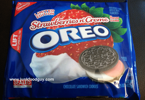 Limited Edition Strawberries n' Creme Oreos