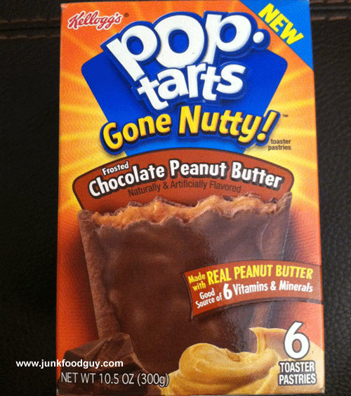 New Gone Nutty! Chocolate Peanut Butter Pop-Tarts