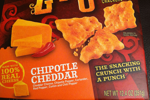 review new cheezit chipotle pepper zingz a so good