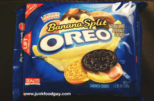 Limited Edition Banana Split Oreo