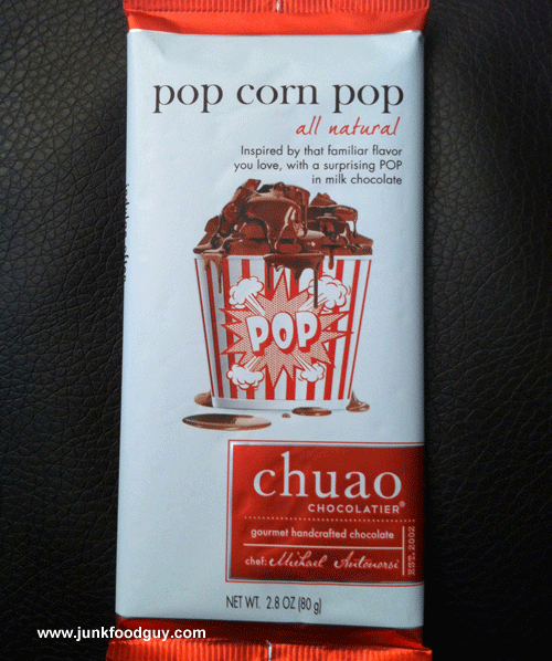 Chuao Popcorn Pop Bar