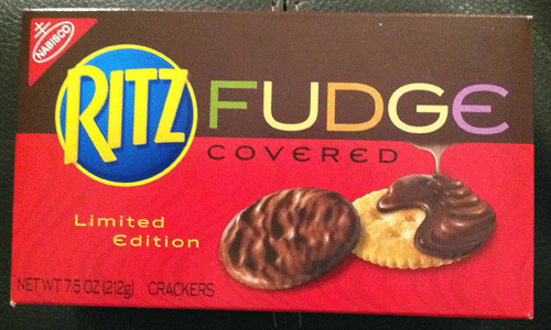 Image result for fudge coated ritz